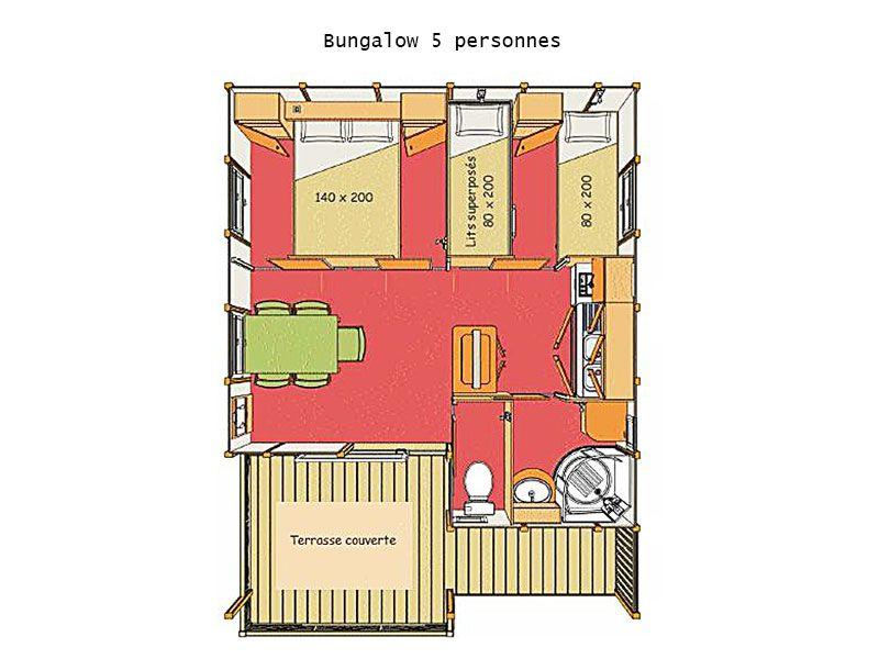 Bungalow 5 personnes for Www bungalow5 com
